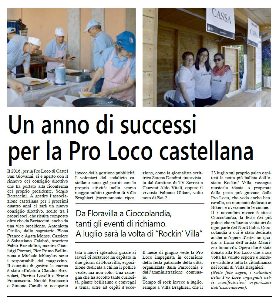 Corriere Padano 16 giugno 2016